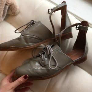 Rebecca minkoff patent shoes